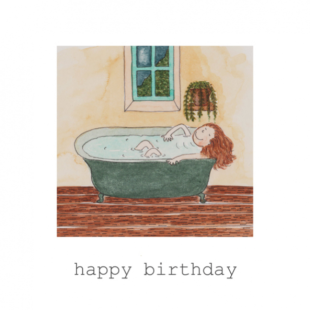 Birthday Bath