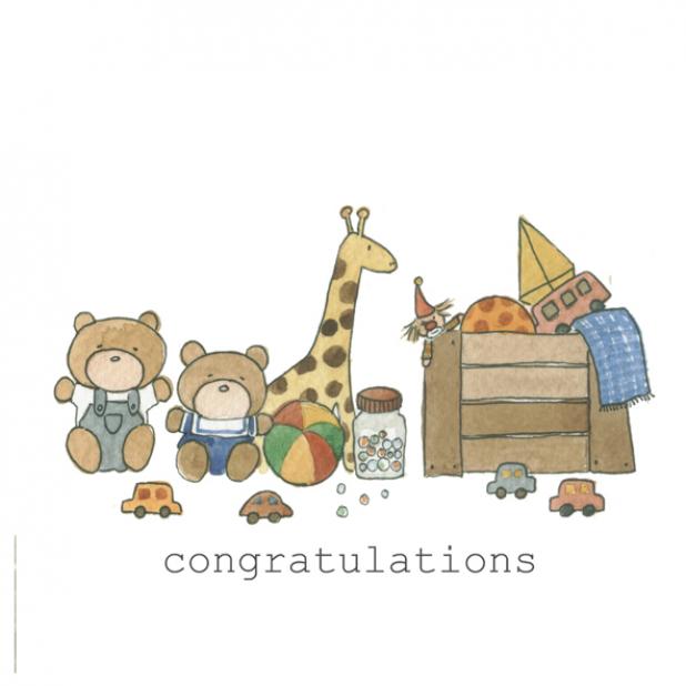 Congratulations Baby Toys