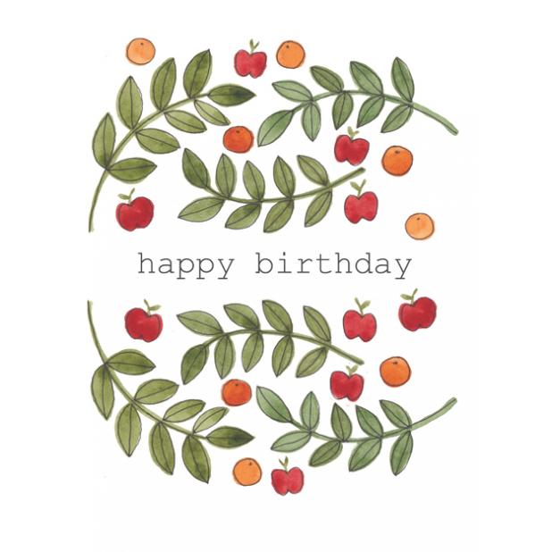 Birthday fruit