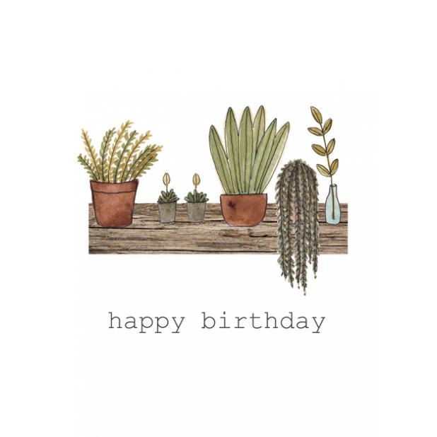 Happy Birthday Plants