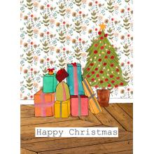 Presents, Christmas card, Christmas, Merry Christmas, Happy Christmas
